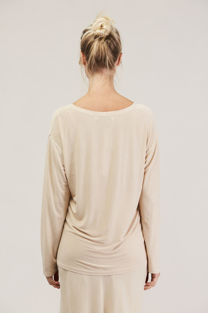 Relaxed l/s drop shoulder, Buff by Shaina Mote @ Kick Pleat - 6
