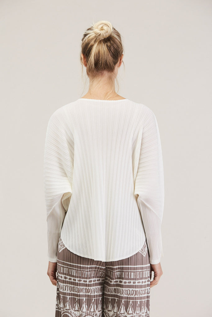 L/S Shirt by Pleats Please by Issey Miyake