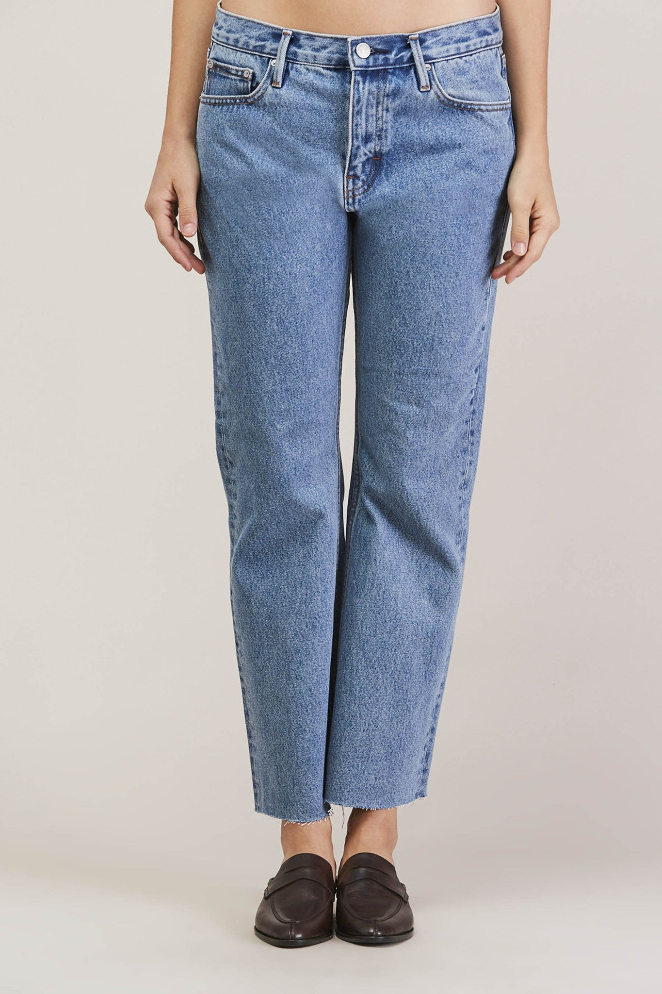 Melody Cropped Boot Cut, Steinway by EARNEST SEWN @ Kick Pleat - 1