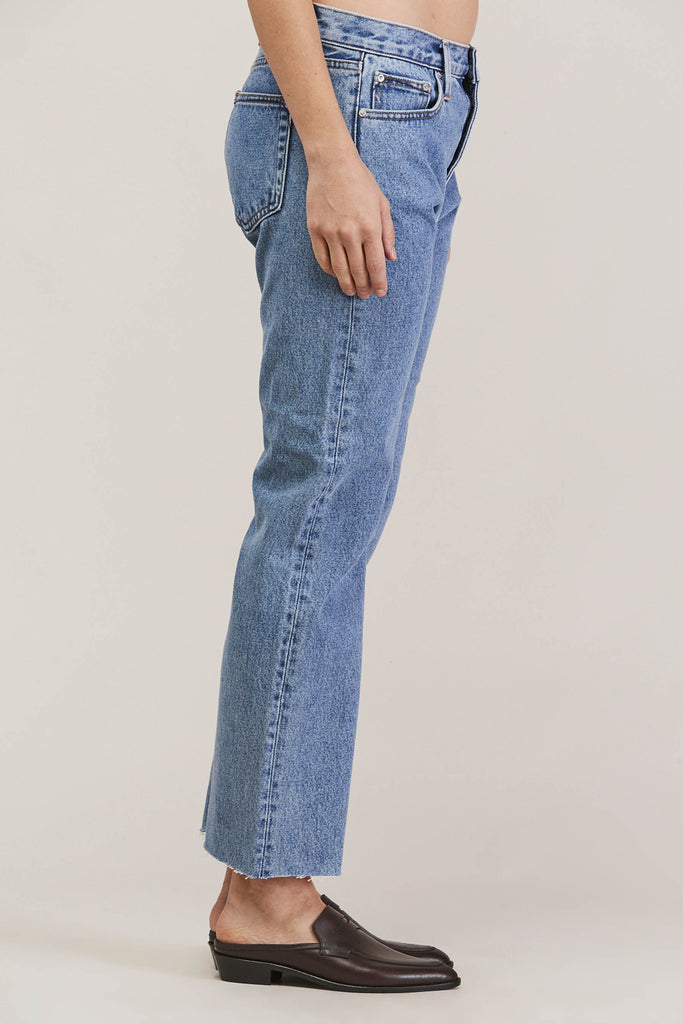 Melody Cropped Boot Cut, Steinway by EARNEST SEWN @ Kick Pleat - 4