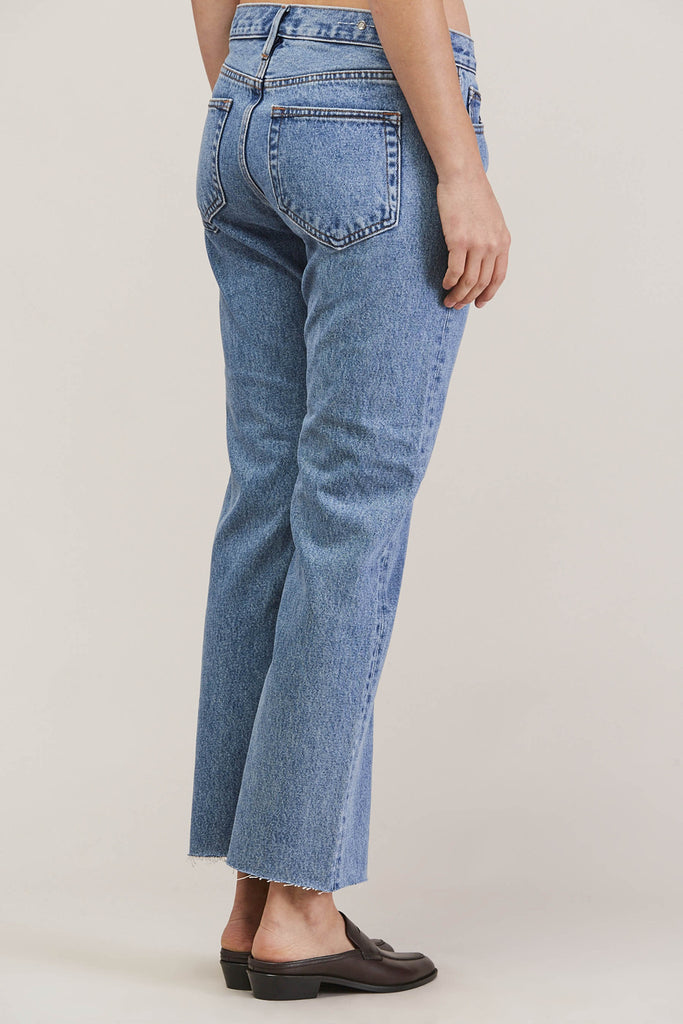 Melody Cropped Boot Cut, Steinway by EARNEST SEWN @ Kick Pleat - 5