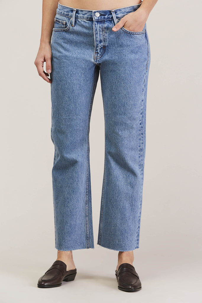 Melody Cropped Boot Cut, Steinway by EARNEST SEWN @ Kick Pleat - 7