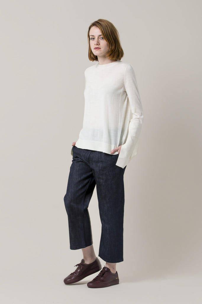 Krasner Wide Leg Jeans by Studio Nicholson @ Kick Pleat - 8
