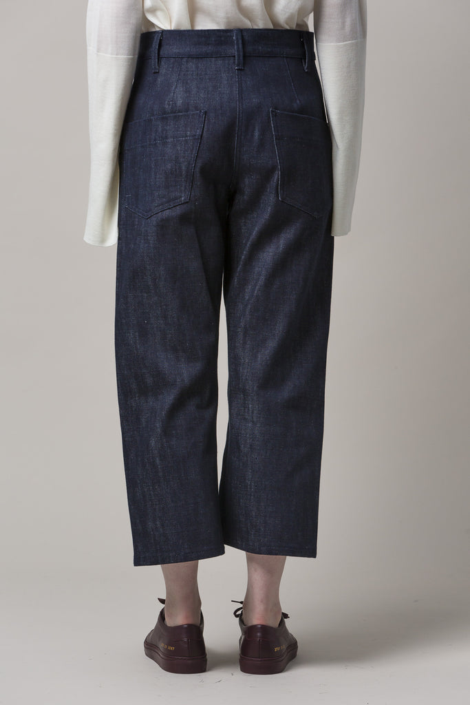 Krasner Wide Leg Jeans by Studio Nicholson @ Kick Pleat - 6