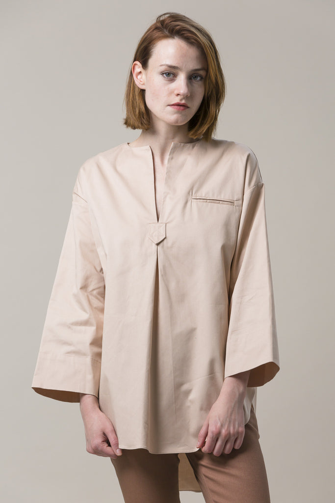 Oversize Tunic, Rose by Nomia @ Kick Pleat - 2