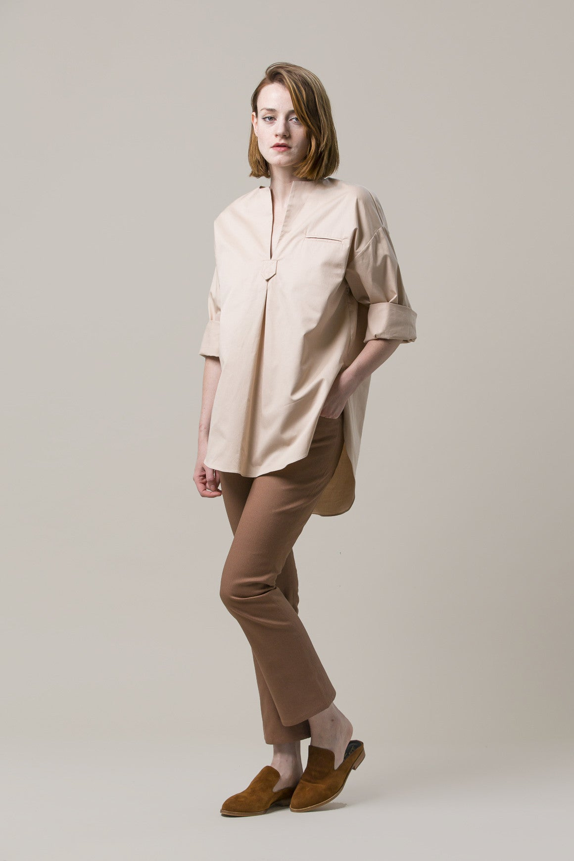 Oversize Tunic, Rose by Nomia @ Kick Pleat - 1