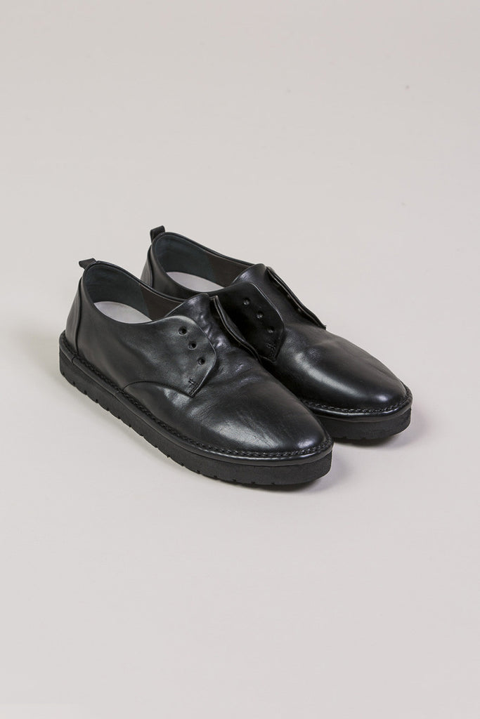 Gomma Oxford Shoes, Black