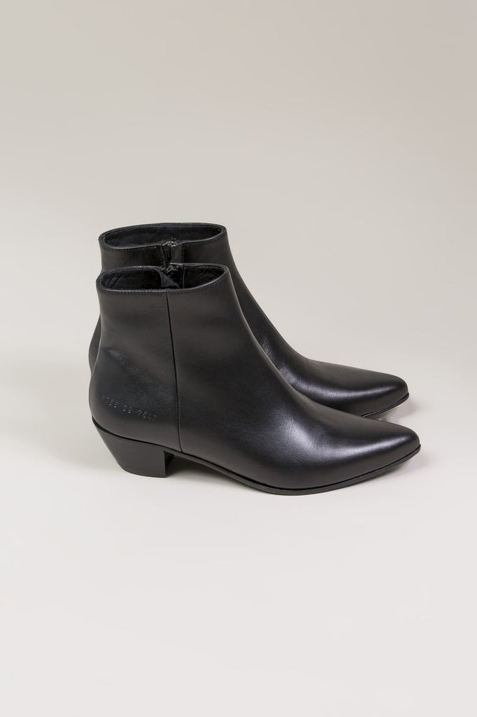 Zip Ankle Boot, Black by Woman by Common Projects @ Kick Pleat - 2
