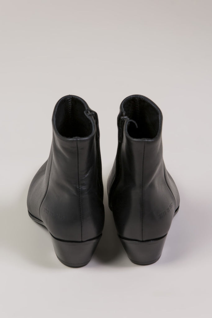 Zip Ankle Boot, Black by Woman by Common Projects @ Kick Pleat - 3