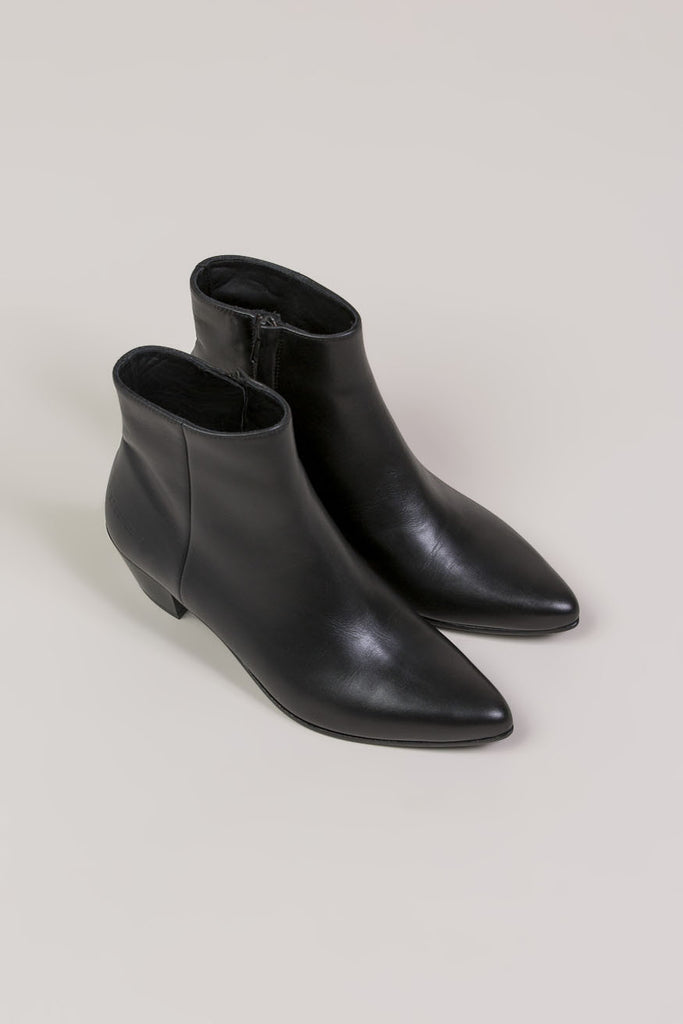 Zip Ankle Boot, Black by Woman by Common Projects @ Kick Pleat - 4