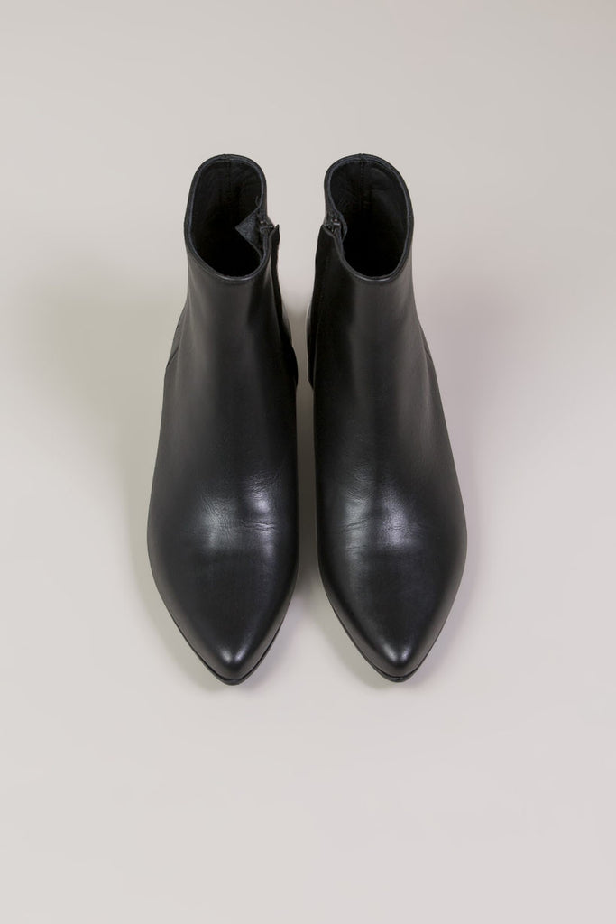 Zip Ankle Boot, Black by Woman by Common Projects @ Kick Pleat - 5