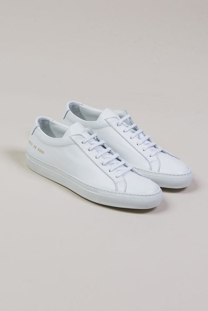 Original Achilles Low, White by Woman by Common Projects @ Kick Pleat - 1