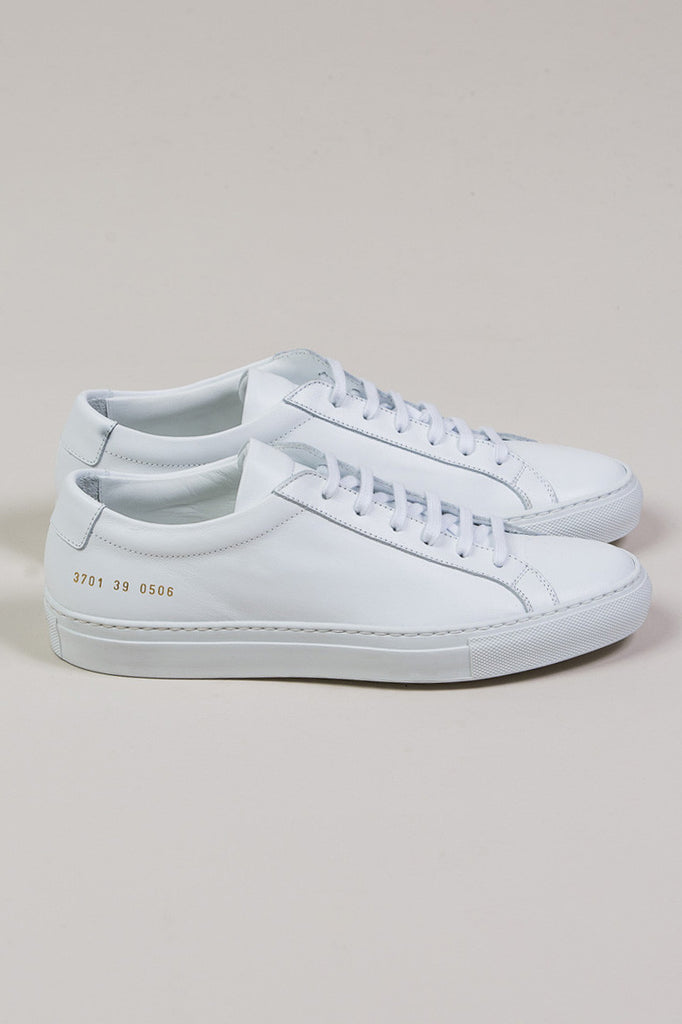 Original Achilles Low, White by Woman by Common Projects @ Kick Pleat - 2