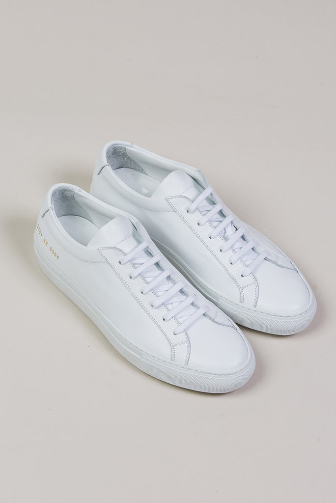 Original Achilles Low, White by Woman by Common Projects @ Kick Pleat - 3
