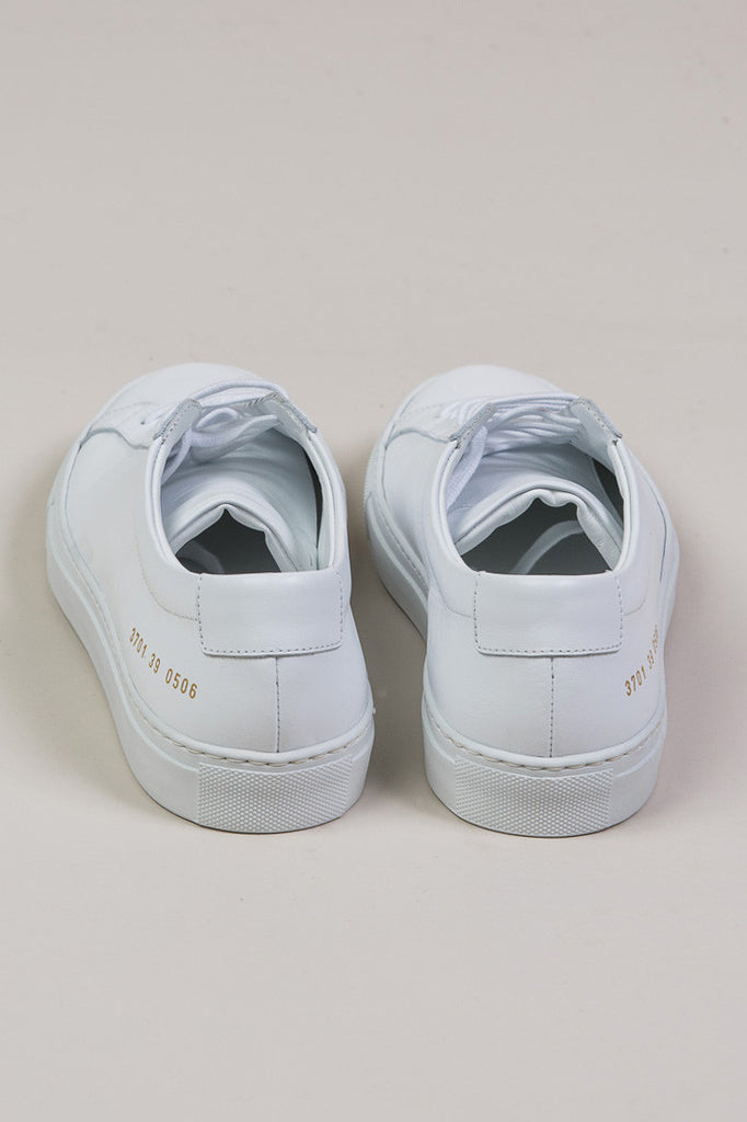 Original Achilles Low, White by Woman by Common Projects @ Kick Pleat - 4
