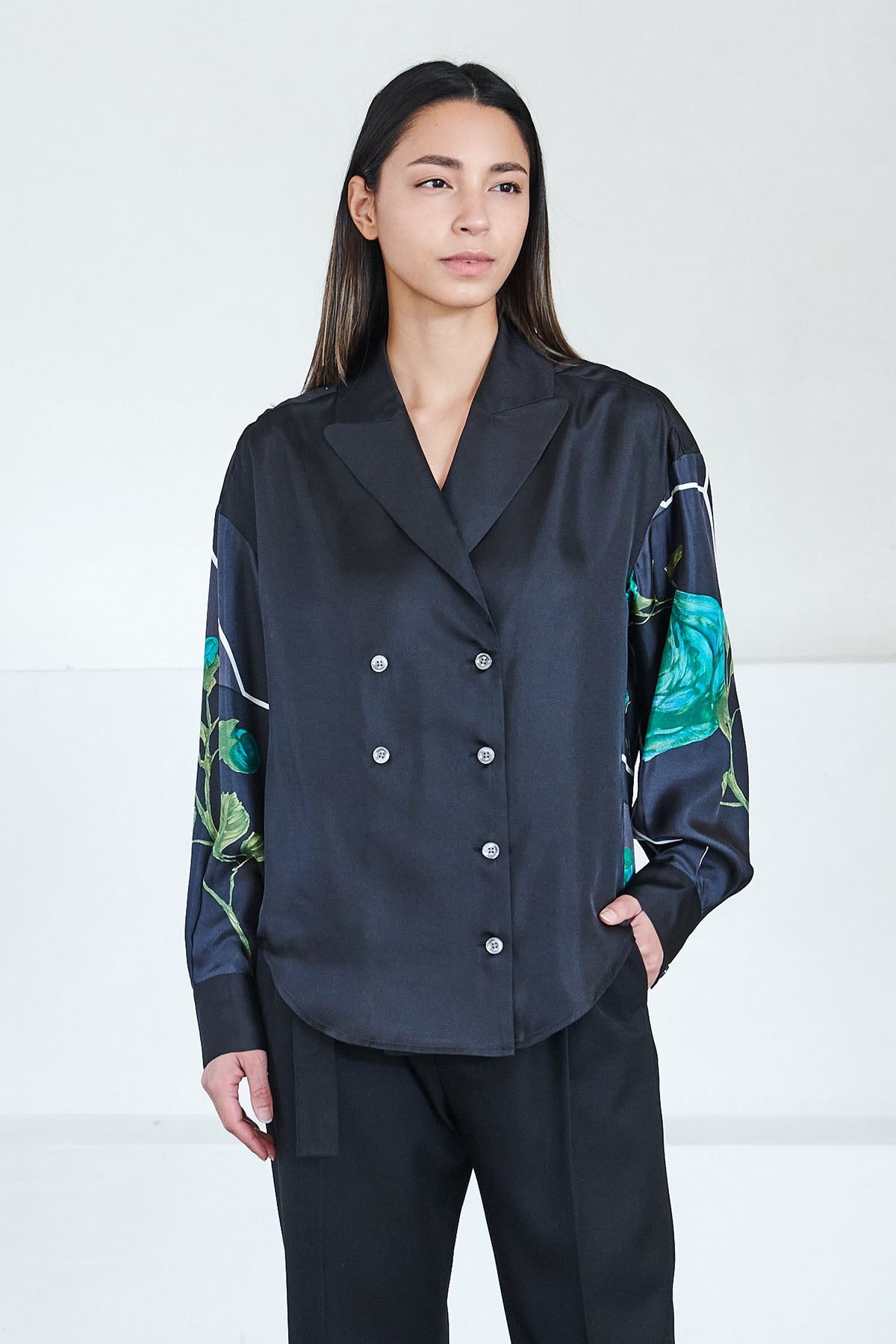 Rachel Comey - harriman top, black multi