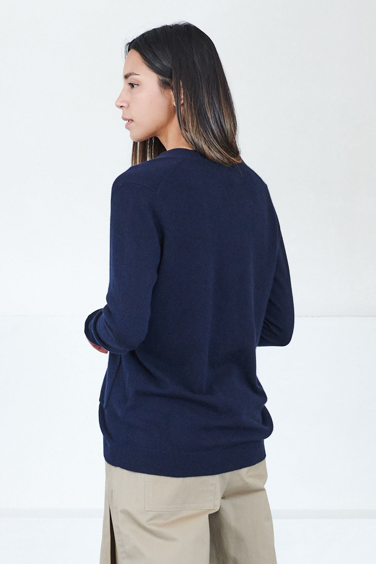 Allude - v cardigan, night