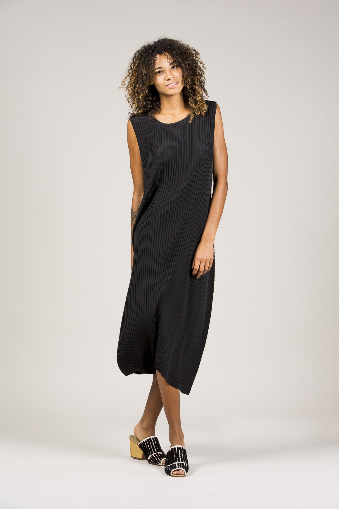 Pleated Tank Dress by Issey Miyake @ Kick Pleat - 1
