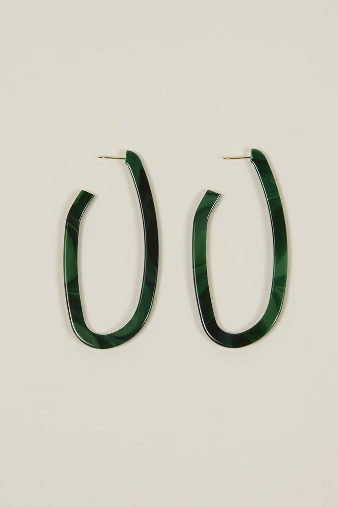 Maya crooked hoop earrings by Rachel Comey @ Kick Pleat - 1