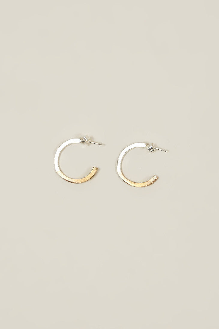 II tone hoops, Bronze/Silver by OPEN HOUSE @ Kick Pleat - 1