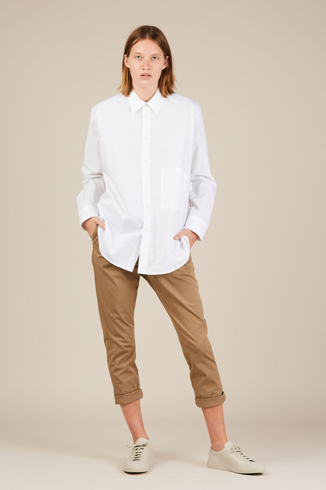 Elma Shirt - White - Hope