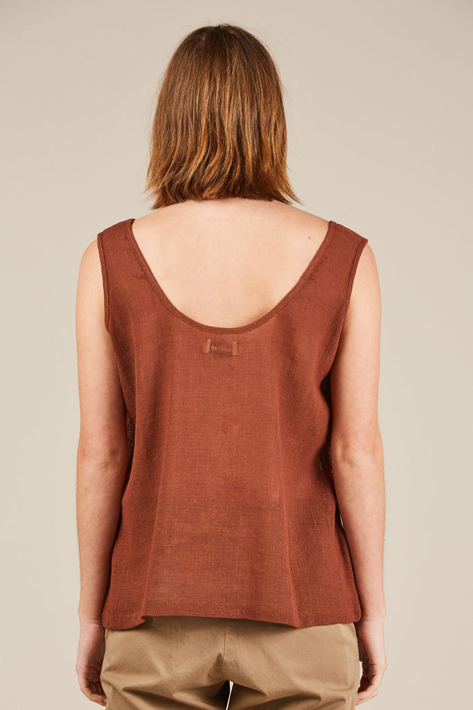 Tank Top, Marsala - Revisited