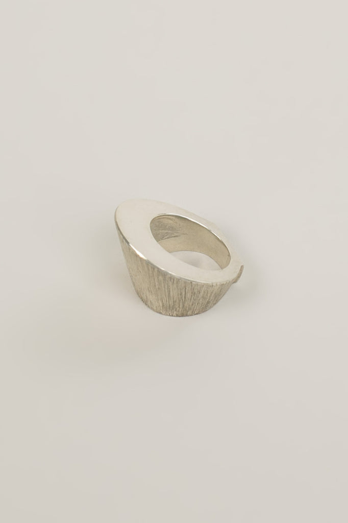 Le Chapeau Ring, Sterling Silver