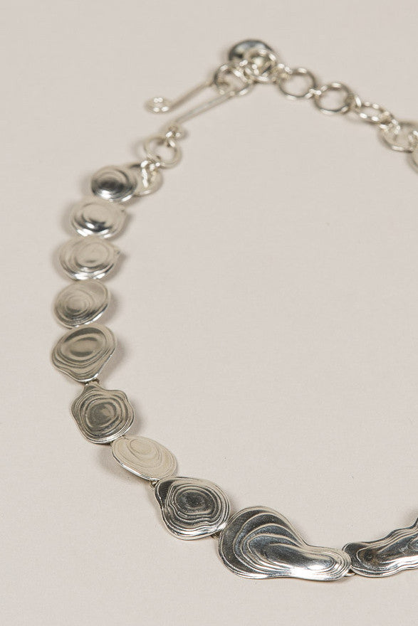 Lava Choker, Silver by Leigh Miller @ Kick Pleat - 2