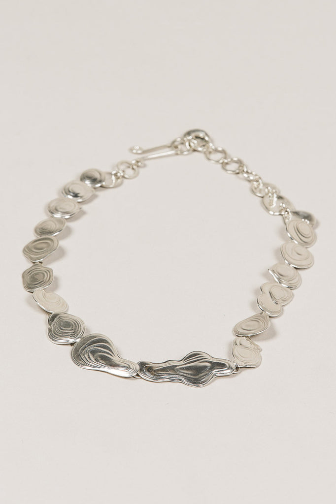 Lava Choker, Silver by Leigh Miller @ Kick Pleat - 3