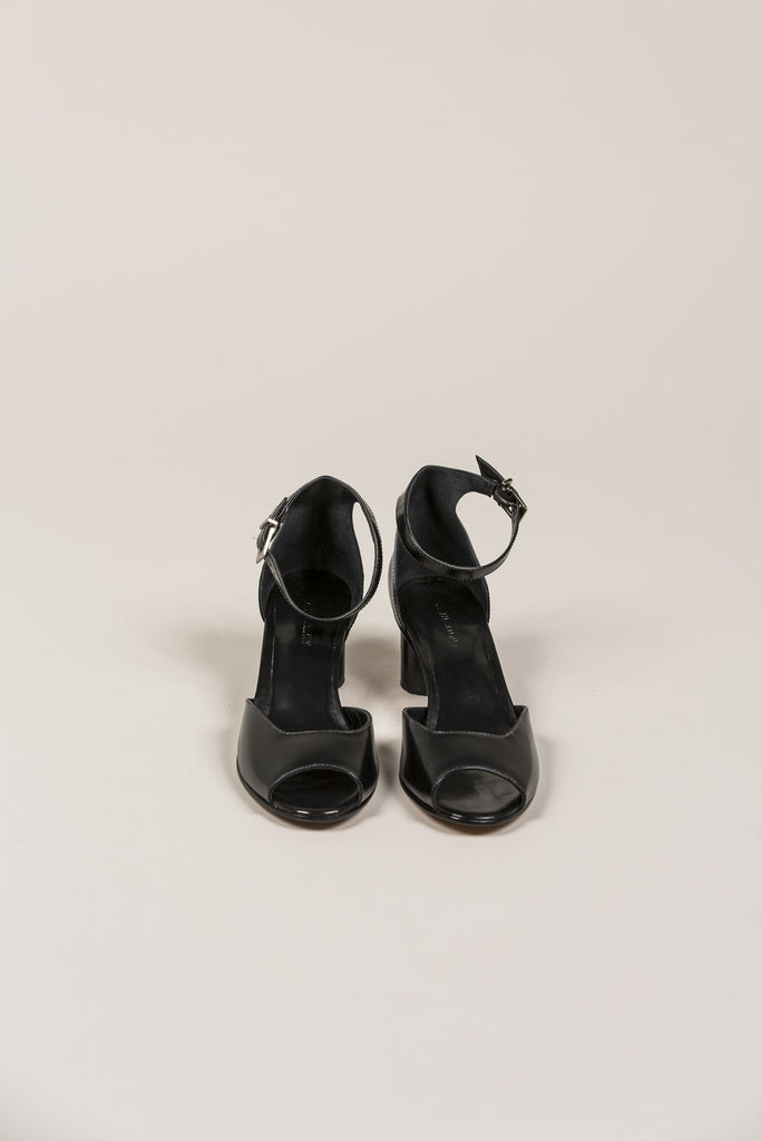 Bodie Ankle Strap Heel, Black by Rachel Comey @ Kick Pleat - 3