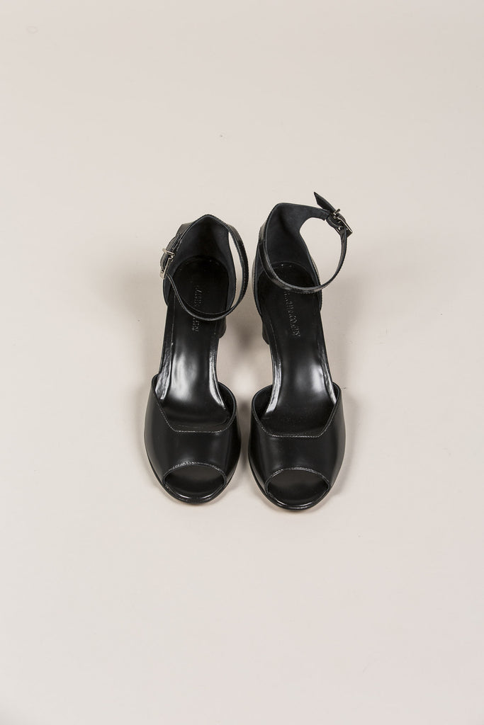 Bodie Ankle Strap Heel, Black by Rachel Comey @ Kick Pleat - 5