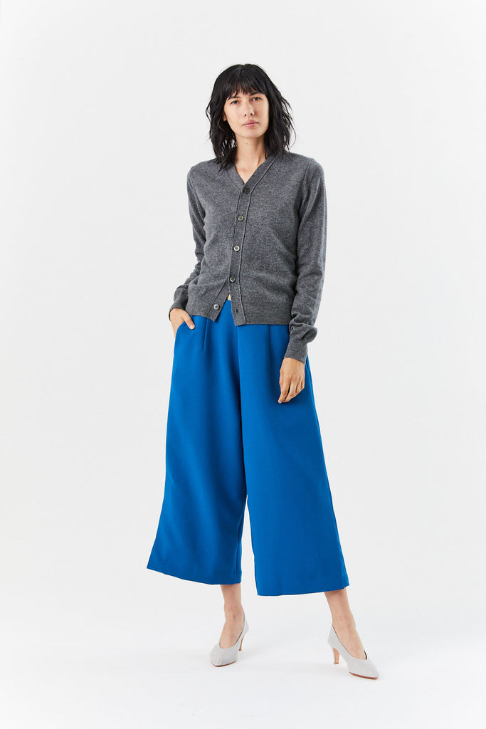 Bambu Relaxed Wide Leg Pant, Blue