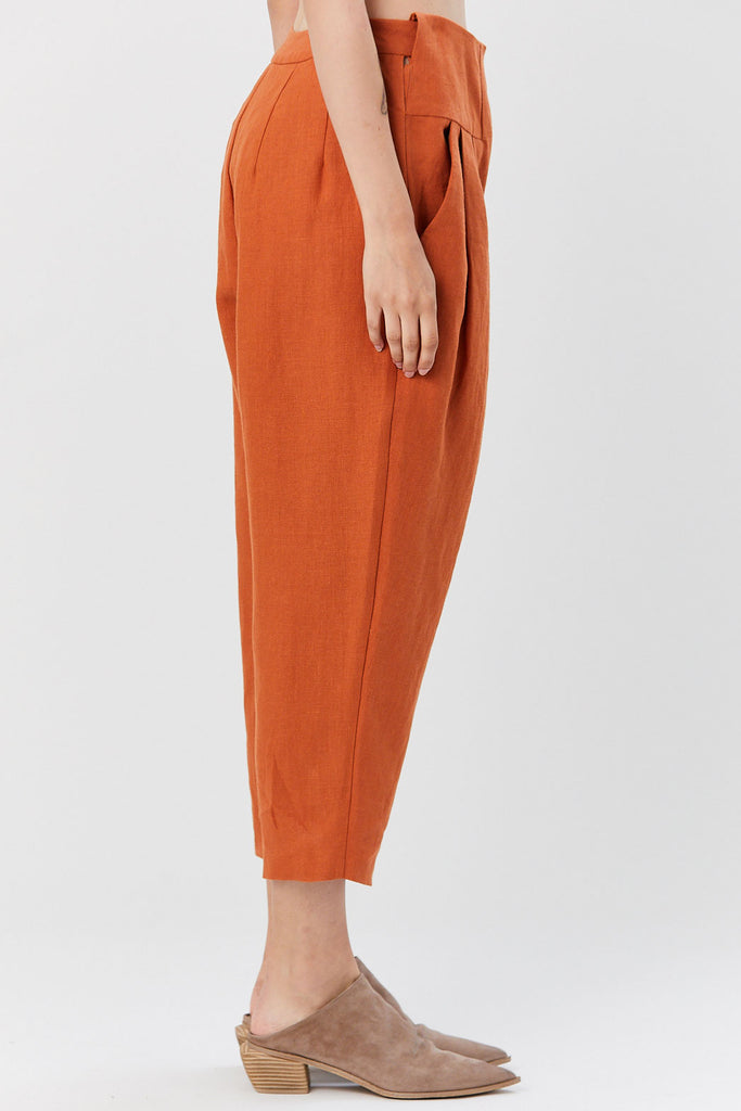 Kaarem - Gon Ceiba Relaxed Pant, Red Sand