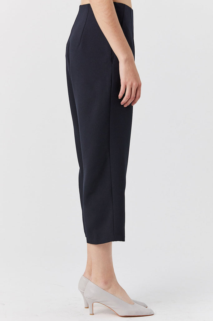 KAAREM - Sua Tapered Trouser Pocket Pant, Black Blue