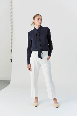 Catherine Pant, White