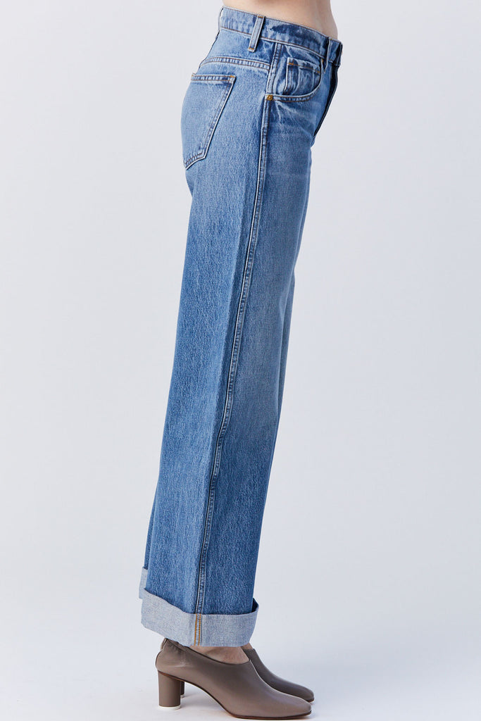 KHAITE - Noelle Jean, Medium Wash
