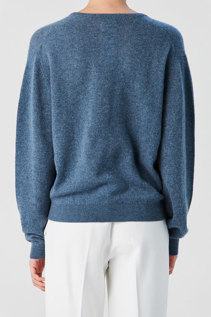 KHAITE - Sam Sweater, Denim Blue