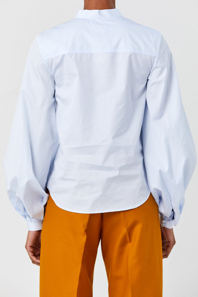 Khaite - Willa Shirt, Light Blue