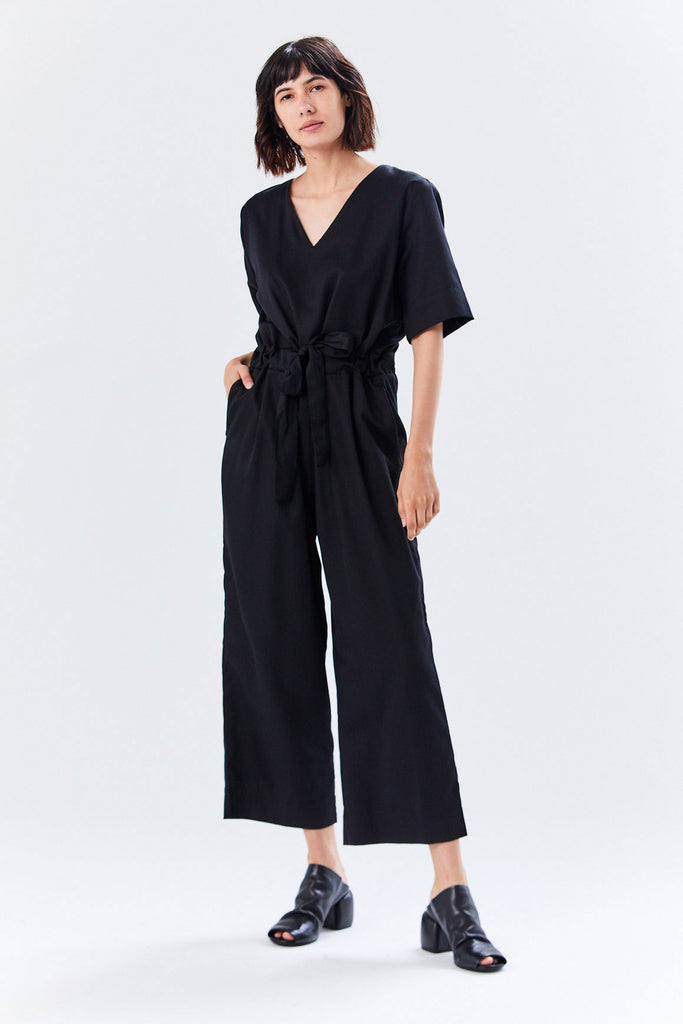Archive Jumpsuit, Black