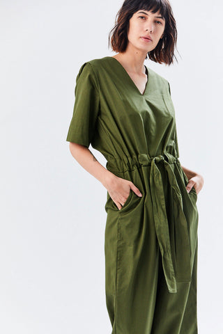 Archive Jumpsuit, Moss