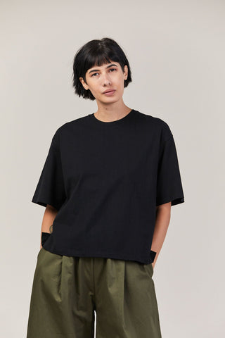 Building Block Boxy Tee, Black