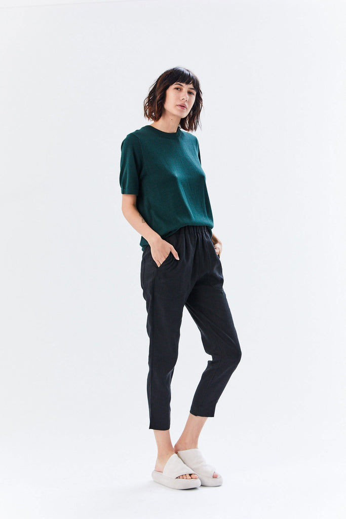 Kowtow - Kowtow Knit Tee, Bottle Green