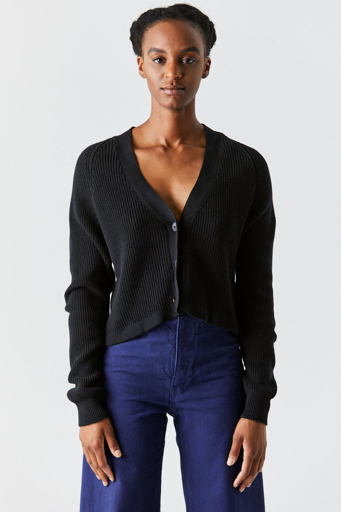 Kowtow - Primary Cardigan, Black