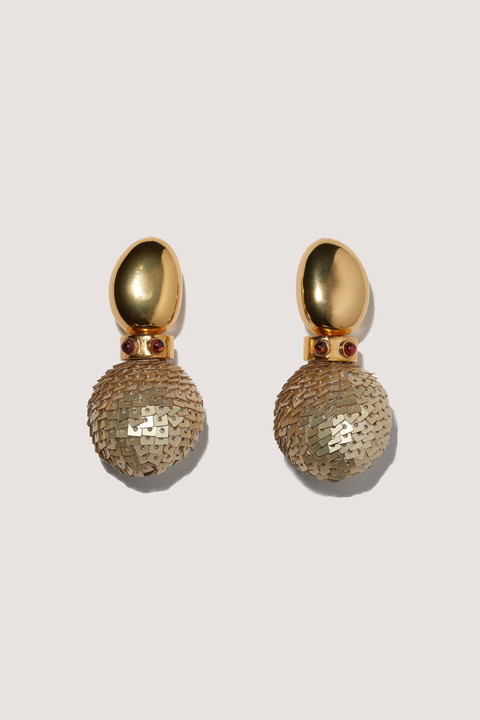 Twombly Earrings, Gold