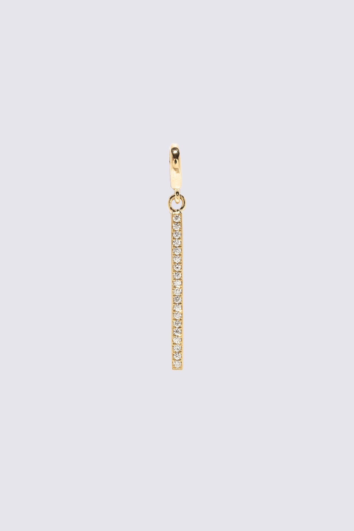 AZLEE - Light Beam Diamond Charm, Gold