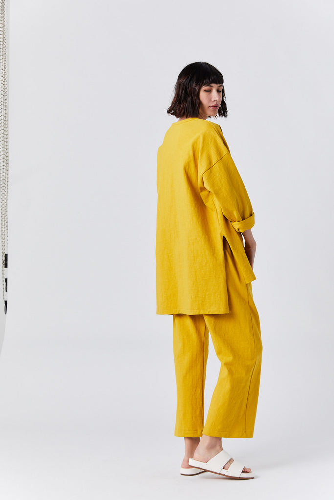 Oversized Tunic, Sunflower