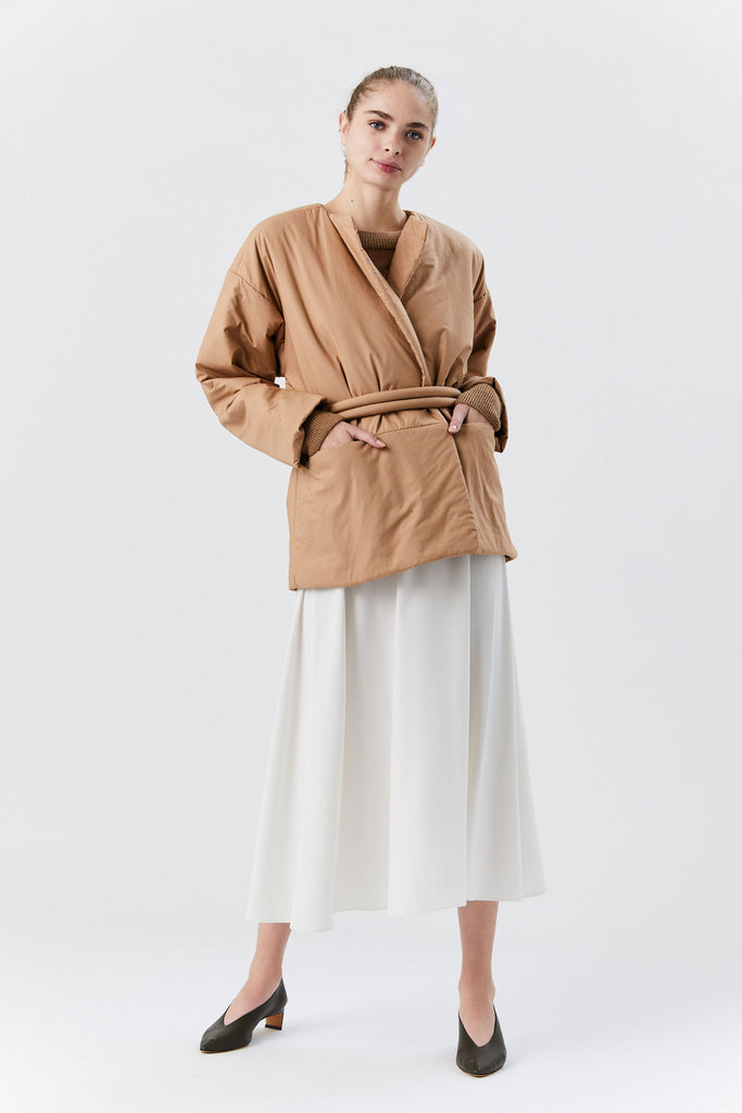 Lauren Manoogian - Puff Coat, Adobe