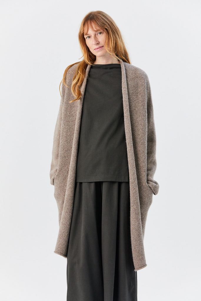 Lauren Manoogian - Roll Cardigan, Mouse