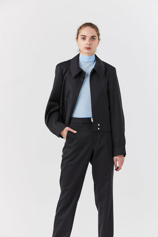 Forward Sleeve Jacket, Black