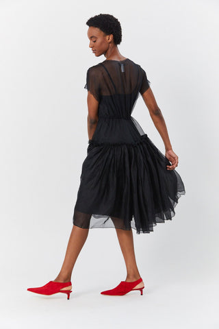 Organza Ball Dress, Black